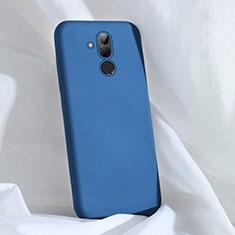 Coque Ultra Fine Silicone Souple 360 Degres Housse Etui C02 pour Huawei Mate 20 Lite Bleu