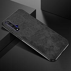 Coque Ultra Fine Silicone Souple 360 Degres Housse Etui C02 pour Huawei Nova 5T Noir