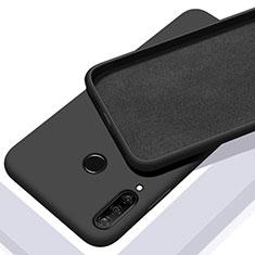 Coque Ultra Fine Silicone Souple 360 Degres Housse Etui C02 pour Huawei P30 Lite New Edition Noir