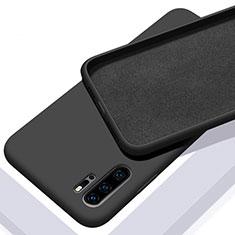 Coque Ultra Fine Silicone Souple 360 Degres Housse Etui C02 pour Huawei P30 Pro New Edition Noir