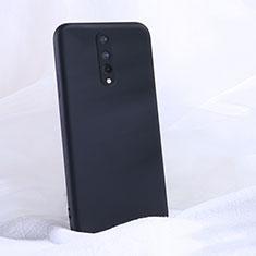 Coque Ultra Fine Silicone Souple 360 Degres Housse Etui C02 pour OnePlus 8 Noir