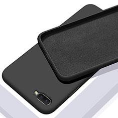 Coque Ultra Fine Silicone Souple 360 Degres Housse Etui C02 pour Oppo R17 Neo Noir