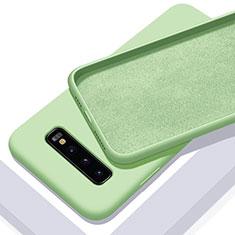 Coque Ultra Fine Silicone Souple 360 Degres Housse Etui C02 pour Samsung Galaxy S10 Plus Vert