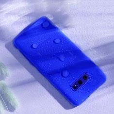 Coque Ultra Fine Silicone Souple 360 Degres Housse Etui C02 pour Samsung Galaxy S10e Bleu