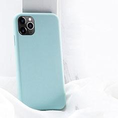 Coque Ultra Fine Silicone Souple 360 Degres Housse Etui C03 pour Apple iPhone 11 Pro Max Cyan