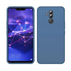 Coque Ultra Fine Silicone Souple 360 Degres Housse Etui C03 pour Huawei Mate 20 Lite Bleu