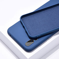 Coque Ultra Fine Silicone Souple 360 Degres Housse Etui C03 pour Huawei P20 Pro Bleu
