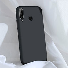 Coque Ultra Fine Silicone Souple 360 Degres Housse Etui C03 pour Huawei P30 Lite Noir