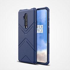 Coque Ultra Fine Silicone Souple 360 Degres Housse Etui C03 pour OnePlus 7T Pro Bleu