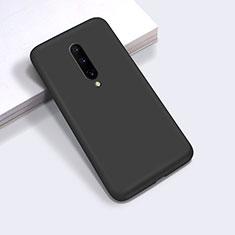 Coque Ultra Fine Silicone Souple 360 Degres Housse Etui C03 pour OnePlus 8 Noir