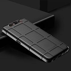 Coque Ultra Fine Silicone Souple 360 Degres Housse Etui C03 pour Samsung Galaxy A80 Noir
