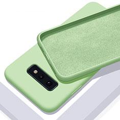 Coque Ultra Fine Silicone Souple 360 Degres Housse Etui C03 pour Samsung Galaxy S10e Vert