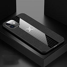 Coque Ultra Fine Silicone Souple 360 Degres Housse Etui C04 pour Apple iPhone 11 Noir