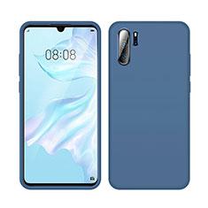 Coque Ultra Fine Silicone Souple 360 Degres Housse Etui C04 pour Huawei P30 Pro Bleu
