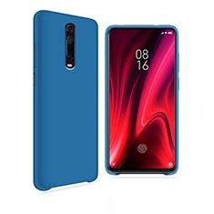 Coque Ultra Fine Silicone Souple 360 Degres Housse Etui C04 pour Xiaomi Mi 9T Pro Bleu