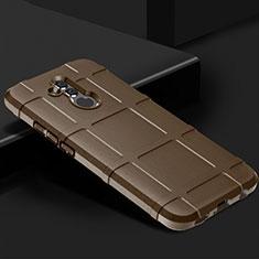 Coque Ultra Fine Silicone Souple 360 Degres Housse Etui C05 pour Huawei Mate 20 Lite Marron