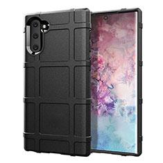 Coque Ultra Fine Silicone Souple 360 Degres Housse Etui C05 pour Samsung Galaxy Note 10 5G Noir