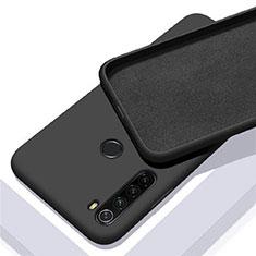 Coque Ultra Fine Silicone Souple 360 Degres Housse Etui C05 pour Xiaomi Redmi Note 8 Noir