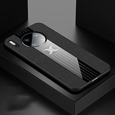 Coque Ultra Fine Silicone Souple 360 Degres Housse Etui C06 pour Huawei Mate 30 5G Noir