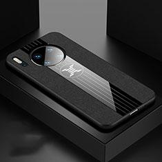 Coque Ultra Fine Silicone Souple 360 Degres Housse Etui C06 pour Huawei Mate 30 Pro Noir