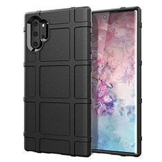 Coque Ultra Fine Silicone Souple 360 Degres Housse Etui C06 pour Samsung Galaxy Note 10 Plus 5G Noir