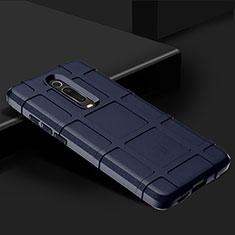 Coque Ultra Fine Silicone Souple 360 Degres Housse Etui C06 pour Xiaomi Mi 9T Pro Bleu