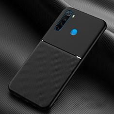 Coque Ultra Fine Silicone Souple 360 Degres Housse Etui C06 pour Xiaomi Redmi Note 8T Noir