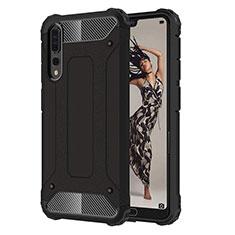 Coque Ultra Fine Silicone Souple 360 Degres Housse Etui C07 pour Huawei P20 Pro Noir