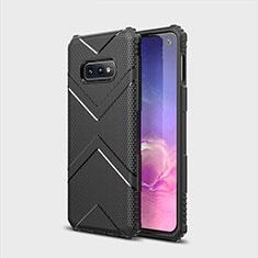 Coque Ultra Fine Silicone Souple 360 Degres Housse Etui C07 pour Samsung Galaxy S10e Noir