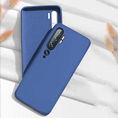 Coque Ultra Fine Silicone Souple 360 Degres Housse Etui C07 pour Xiaomi Mi Note 10 Bleu