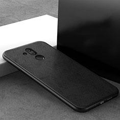Coque Ultra Fine Silicone Souple 360 Degres Housse Etui C09 pour Huawei Mate 20 Lite Noir