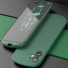 Coque Ultra Fine Silicone Souple 360 Degres Housse Etui N01 pour Apple iPhone 12 Vert