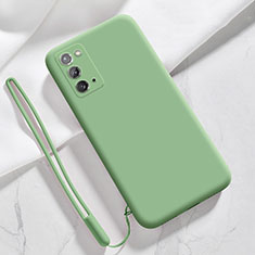 Coque Ultra Fine Silicone Souple 360 Degres Housse Etui N03 pour Samsung Galaxy Note 20 5G Pastel Vert