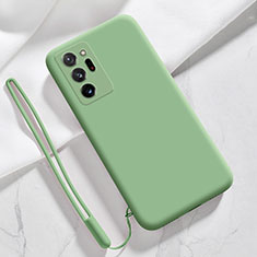 Coque Ultra Fine Silicone Souple 360 Degres Housse Etui N03 pour Samsung Galaxy Note 20 Ultra 5G Pastel Vert