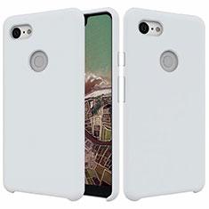 Coque Ultra Fine Silicone Souple 360 Degres Housse Etui pour Google Pixel 3 XL Blanc