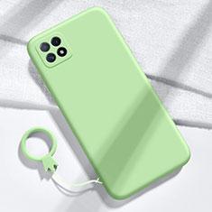 Coque Ultra Fine Silicone Souple 360 Degres Housse Etui pour Huawei Enjoy 20 5G Vert