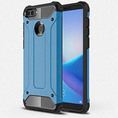 Coque Ultra Fine Silicone Souple 360 Degres Housse Etui pour Huawei Enjoy 8 Plus Bleu