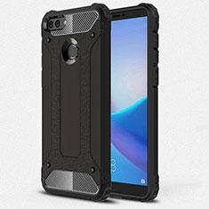 Coque Ultra Fine Silicone Souple 360 Degres Housse Etui pour Huawei Enjoy 8 Plus Noir