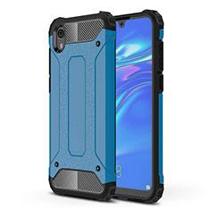 Coque Ultra Fine Silicone Souple 360 Degres Housse Etui pour Huawei Enjoy 8S Bleu