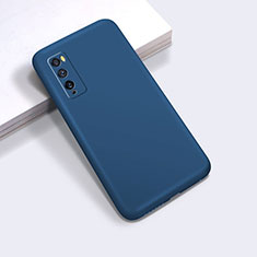 Coque Ultra Fine Silicone Souple 360 Degres Housse Etui pour Huawei Enjoy Z 5G Bleu