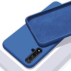 Coque Ultra Fine Silicone Souple 360 Degres Housse Etui pour Huawei Honor 20 Bleu