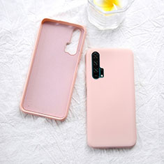 Coque Ultra Fine Silicone Souple 360 Degres Housse Etui pour Huawei Honor 20 Pro Or Rose