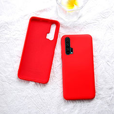 Coque Ultra Fine Silicone Souple 360 Degres Housse Etui pour Huawei Honor 20 Pro Rouge