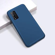 Coque Ultra Fine Silicone Souple 360 Degres Housse Etui pour Huawei Honor Play4T Pro Bleu