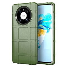 Coque Ultra Fine Silicone Souple 360 Degres Housse Etui pour Huawei Mate 40 Pro Vert Armee