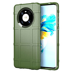 Coque Ultra Fine Silicone Souple 360 Degres Housse Etui pour Huawei Mate 40 Vert Armee