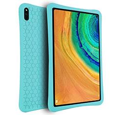 Coque Ultra Fine Silicone Souple 360 Degres Housse Etui pour Huawei MatePad Pro Cyan