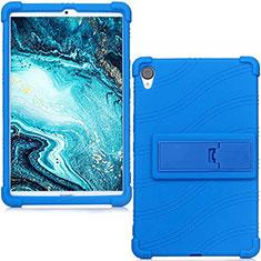 Coque Ultra Fine Silicone Souple 360 Degres Housse Etui pour Huawei MediaPad M6 8.4 Bleu