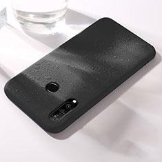Coque Ultra Fine Silicone Souple 360 Degres Housse Etui pour Huawei Nova 4e Noir