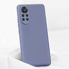 Coque Ultra Fine Silicone Souple 360 Degres Housse Etui pour Huawei Nova 8 Pro 5G Gris Lavende